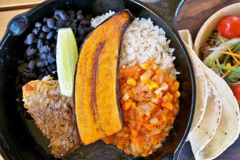 Eten in Costa Rica Gallo Pinto