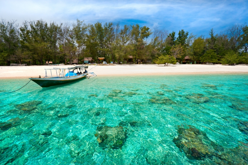Rondreis Indonesie - strand Gili's
