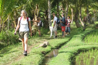 Excursies in Indonesië - kruidenwandeling Bali