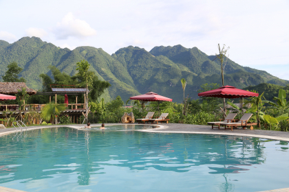 Hotels in Vietnam - Mai Chau Ecolodge