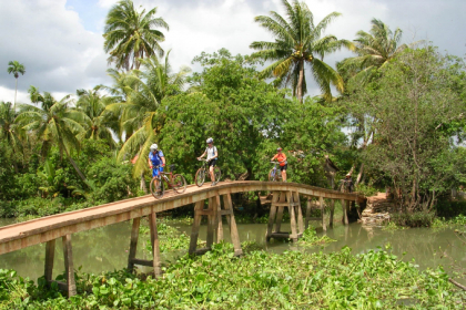 Excursies in Vietnam - Mekong fietstocht