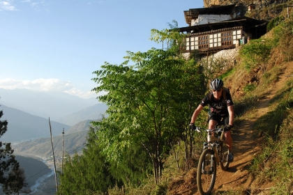 Bhutan mountainbike