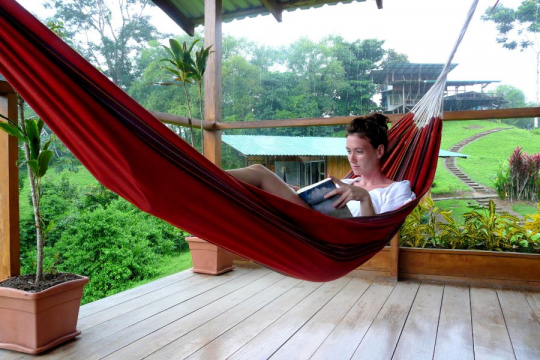Rondreis Costa Rica relaxen in hangmat