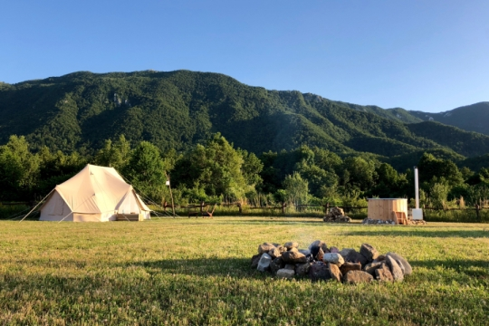 Kroatië Velebit outdoor kamp